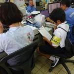 【北中城】島袋小学校6年生 ジョブシャドウイング!!