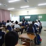 【宜野湾市】普天間中学校向け職業人講話を行いました!