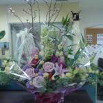 お花を頂きました。