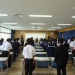 伊江中1年生マナー講座