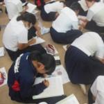 宜野座中学校 職場体験に向けた動機づけ♪♪