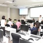 名桜大学情報システムズ特別講義 宜野座村長の講義