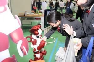 ③ロボットふれあい[1]