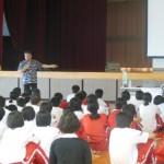 浦添市立浦添中学校 未来の産業人材育成事業実施